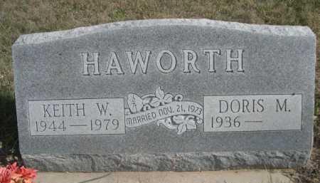 HAWORTH, KEITH W. - Dawes County, Nebraska | KEITH W. HAWORTH - Nebraska Gravestone Photos
