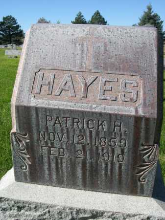 HAYES, PATRICK H. - Dawes County, Nebraska | PATRICK H. HAYES - Nebraska Gravestone Photos