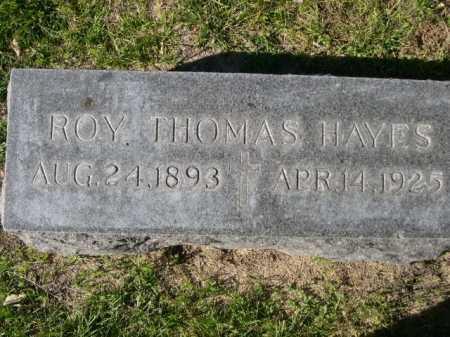 HAYES, ROY THOMAS - Dawes County, Nebraska | ROY THOMAS HAYES - Nebraska Gravestone Photos