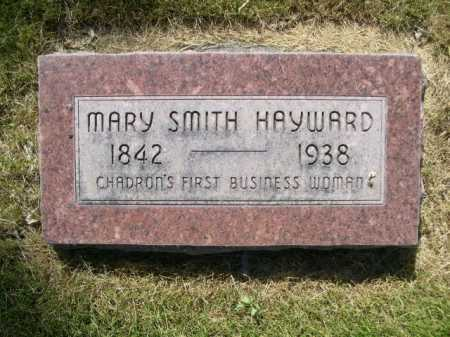 SMITH HAYWARD, MARY SMITH - Dawes County, Nebraska | MARY SMITH SMITH HAYWARD - Nebraska Gravestone Photos