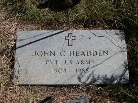 HEADDEN, JOHN C. - Dawes County, Nebraska | JOHN C. HEADDEN - Nebraska Gravestone Photos
