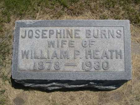 HEATH, JOSEPHINE - Dawes County, Nebraska | JOSEPHINE HEATH - Nebraska Gravestone Photos