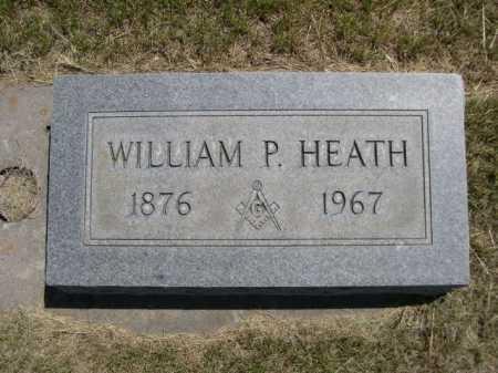 HEATH, WILLIAM P. - Dawes County, Nebraska | WILLIAM P. HEATH - Nebraska Gravestone Photos