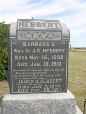 HEBBERT, JAMES S. - Dawes County, Nebraska | JAMES S. HEBBERT - Nebraska Gravestone Photos