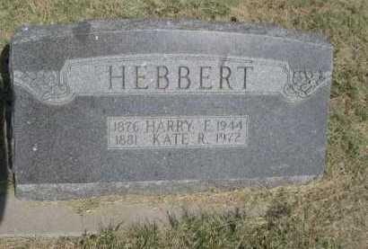 HEBBERT, HARRY E. - Dawes County, Nebraska | HARRY E. HEBBERT - Nebraska Gravestone Photos