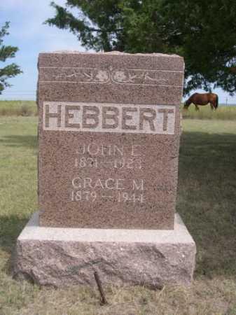 HEBBERT, JOHN E. - Dawes County, Nebraska | JOHN E. HEBBERT - Nebraska Gravestone Photos