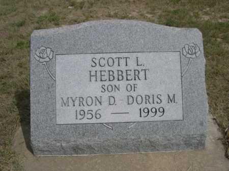 HEBBERT, SCOTT L. - Dawes County, Nebraska   SCOTT L. HEBBERT - Nebraska Gravestone Photos