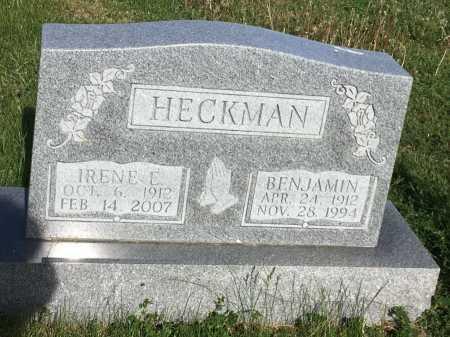 HECKMAN, BENJAMIN - Dawes County, Nebraska | BENJAMIN HECKMAN - Nebraska Gravestone Photos