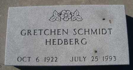 SCHMIDT HEDBERG, GRETCHEN - Dawes County, Nebraska | GRETCHEN SCHMIDT HEDBERG - Nebraska Gravestone Photos