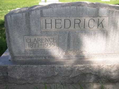 HEDRICK, CLARENCE - Dawes County, Nebraska | CLARENCE HEDRICK - Nebraska Gravestone Photos
