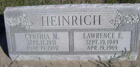 HEINRICH, CYNTHIA M. - Dawes County, Nebraska   CYNTHIA M. HEINRICH - Nebraska Gravestone Photos