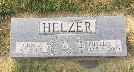 HELZER, PHYLLIS G. - Dawes County, Nebraska | PHYLLIS G. HELZER - Nebraska Gravestone Photos