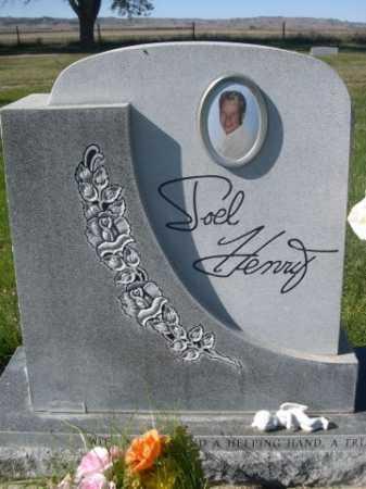 HENRY, JOEL - Dawes County, Nebraska | JOEL HENRY - Nebraska Gravestone Photos