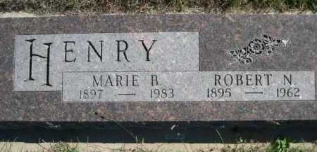 HENRY, MARIE R. - Dawes County, Nebraska | MARIE R. HENRY - Nebraska Gravestone Photos