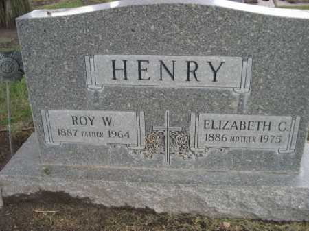 HENRY, ROW W. - Dawes County, Nebraska | ROW W. HENRY - Nebraska Gravestone Photos