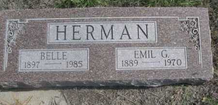 HERMAN, BELLE - Dawes County, Nebraska | BELLE HERMAN - Nebraska Gravestone Photos