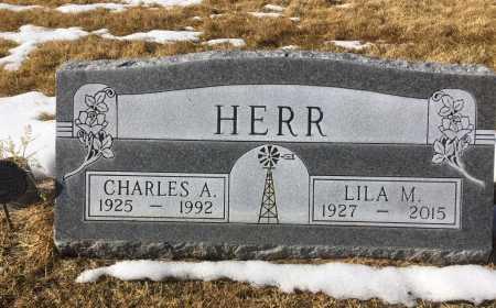 HERR, CHARLES A. - Dawes County, Nebraska | CHARLES A. HERR - Nebraska Gravestone Photos