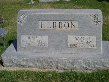 HERRON, ISAAC E. - Dawes County, Nebraska   ISAAC E. HERRON - Nebraska Gravestone Photos