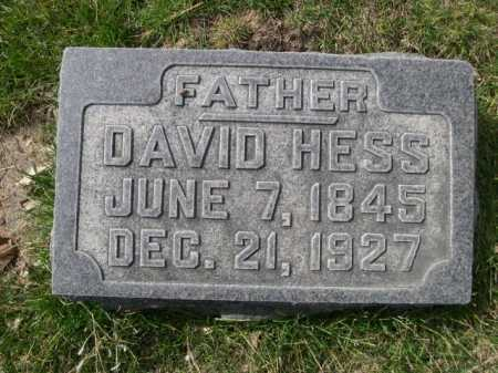 HESS, DAVID - Dawes County, Nebraska | DAVID HESS - Nebraska Gravestone Photos