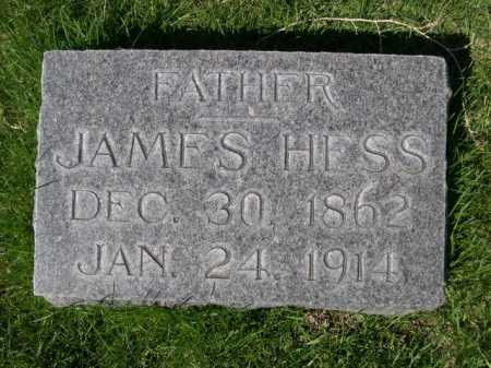 HESS, JAMES - Dawes County, Nebraska | JAMES HESS - Nebraska Gravestone Photos