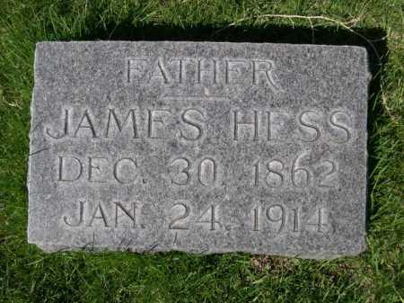 HESS, JAMES - Dawes County, Nebraska | JAMES HESS - Nebraska Gravestone Photos