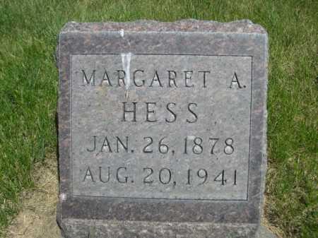 HESS, MARGARET A. - Dawes County, Nebraska | MARGARET A. HESS - Nebraska Gravestone Photos