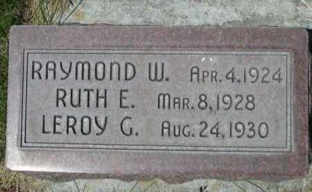 HESS, RAYMOND W. - Dawes County, Nebraska | RAYMOND W. HESS - Nebraska Gravestone Photos