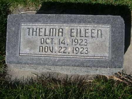 HESS, THELMA EILEEN - Dawes County, Nebraska | THELMA EILEEN HESS - Nebraska Gravestone Photos