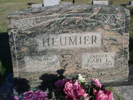 HEUMIER, CAROLINE - Dawes County, Nebraska | CAROLINE HEUMIER - Nebraska Gravestone Photos