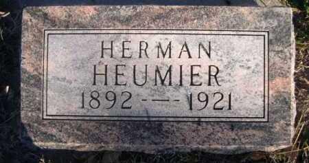 HEUMIER, HERMAN - Dawes County, Nebraska | HERMAN HEUMIER - Nebraska Gravestone Photos