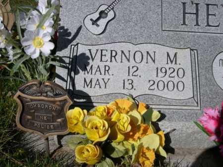 HEWITT, VERNON M. - Dawes County, Nebraska | VERNON M. HEWITT - Nebraska Gravestone Photos