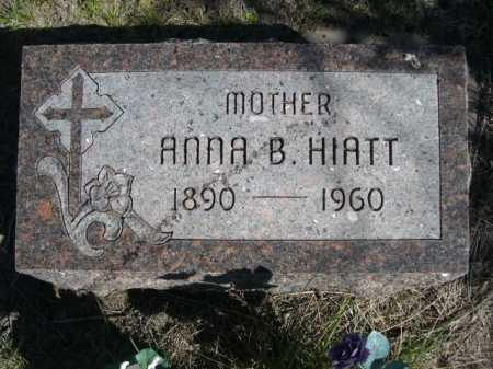 HIATT, ANNA B. - Dawes County, Nebraska | ANNA B. HIATT - Nebraska Gravestone Photos