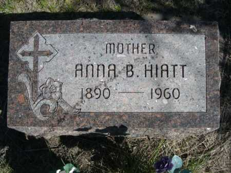 HIATT, ANNA B. - Dawes County, Nebraska   ANNA B. HIATT - Nebraska Gravestone Photos