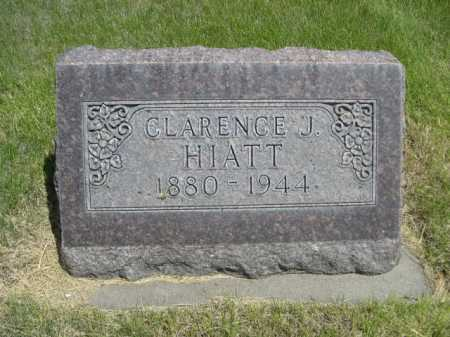 HIATT, CLARENCE J. - Dawes County, Nebraska | CLARENCE J. HIATT - Nebraska Gravestone Photos