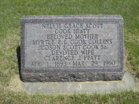 COLLINS, MYRTLE E.L. COOK - Dawes County, Nebraska | MYRTLE E.L. COOK COLLINS - Nebraska Gravestone Photos