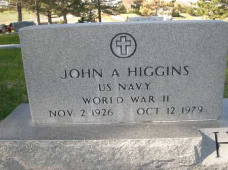 HIGGINS, JOHN A. - Dawes County, Nebraska | JOHN A. HIGGINS - Nebraska Gravestone Photos