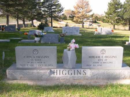 HIGGINS, MIRIAM E - Dawes County, Nebraska | MIRIAM E HIGGINS - Nebraska Gravestone Photos