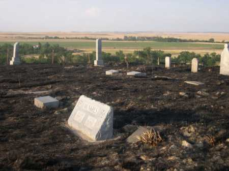 *HIGHLAND CEMETERY, AFTER FIRE VIEW OF - Dawes County, Nebraska | AFTER FIRE VIEW OF *HIGHLAND CEMETERY - Nebraska Gravestone Photos