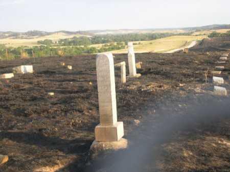 *HIGHLAND CEMETERY, AFTER FIRE VIEW OF - Dawes County, Nebraska | AFTER FIRE VIEW OF *HIGHLAND CEMETERY - Nebraska Gravestone Photos