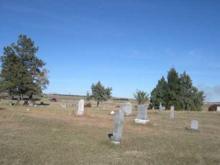 *HIGHLAND CENTER CEMETERY, VIEW OF - Dawes County, Nebraska | VIEW OF *HIGHLAND CENTER CEMETERY - Nebraska Gravestone Photos