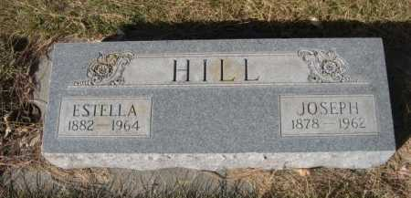 HILL, ESTELLA - Dawes County, Nebraska | ESTELLA HILL - Nebraska Gravestone Photos