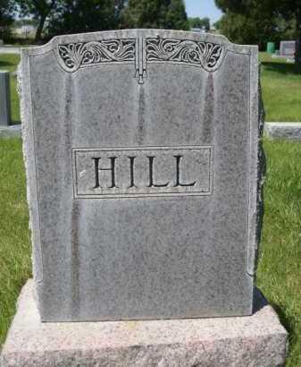 HILL, FAMILY - Dawes County, Nebraska | FAMILY HILL - Nebraska Gravestone Photos