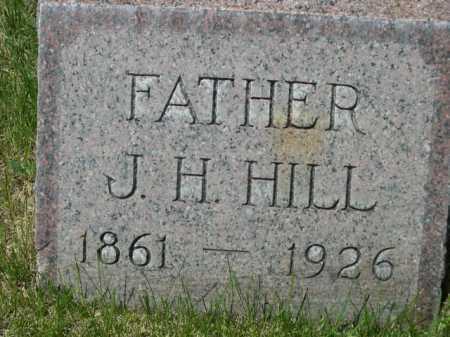 HILL, J. H. - Dawes County, Nebraska | J. H. HILL - Nebraska Gravestone Photos