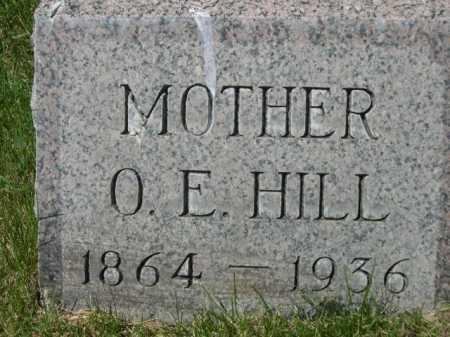 HILL, O. E. - Dawes County, Nebraska   O. E. HILL - Nebraska Gravestone Photos