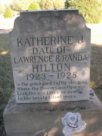 HILTON, KATHERINE J. - Dawes County, Nebraska   KATHERINE J. HILTON - Nebraska Gravestone Photos