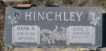 HINCHLEY, OPAL L. - Dawes County, Nebraska | OPAL L. HINCHLEY - Nebraska Gravestone Photos