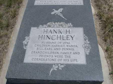 HINCHLEY, HANK H. - Dawes County, Nebraska | HANK H. HINCHLEY - Nebraska Gravestone Photos
