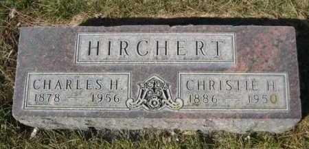 HIRCHERT, CHARLES H. - Dawes County, Nebraska   CHARLES H. HIRCHERT - Nebraska Gravestone Photos