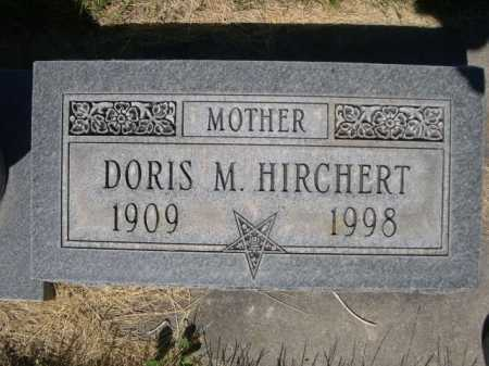 HIRCHERT, DORIS M. - Dawes County, Nebraska | DORIS M. HIRCHERT - Nebraska Gravestone Photos
