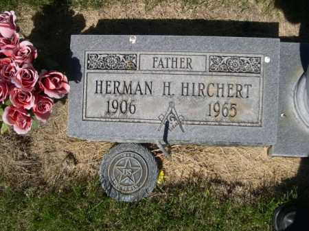 HIRCHERT, HERMAN H. - Dawes County, Nebraska | HERMAN H. HIRCHERT - Nebraska Gravestone Photos